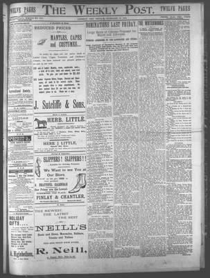 Lindsay Weekly Post (1898), 29 Dec 1899