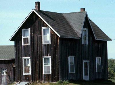 Plate 11, Frame house, Dalton Township, private dwelling