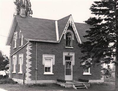 Plate 13, South Portage Road, Eldon Township, private dwelling