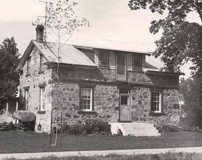 Plate 24, Stone house, Eldon Township, private dwelling