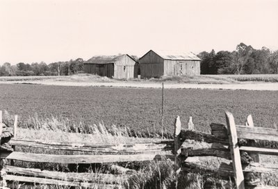 Plate 27, English grain barns, Mariposa Township