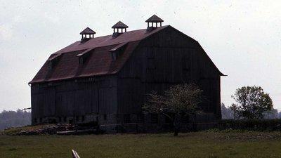 """Plate 30, """"McQuarrie"""" Barn, Built 1915, Eldon Township"""