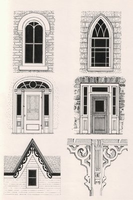 Drawing of Windows and Doors