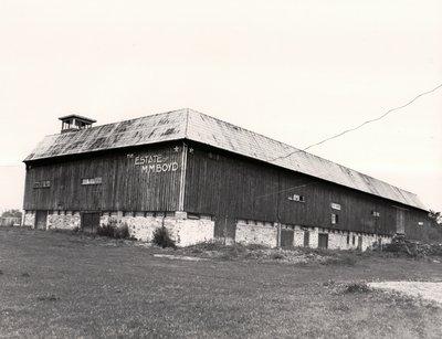Plate 102, Boyd Barn, Highway 36, Bobcaygeon