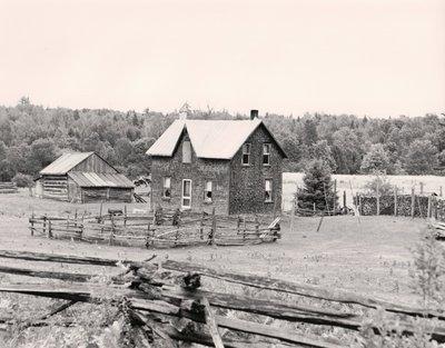 Plate 9, Farmhouse, Somerville Township
