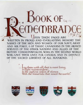 Book of Remembrance 3