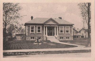 Public Library, Lindsay, Ont.