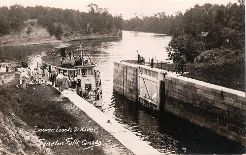 Lower Lock & River, Fenelon Falls, Canada