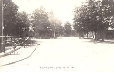 The Fire Hall, Bobcaygeon, Ont.