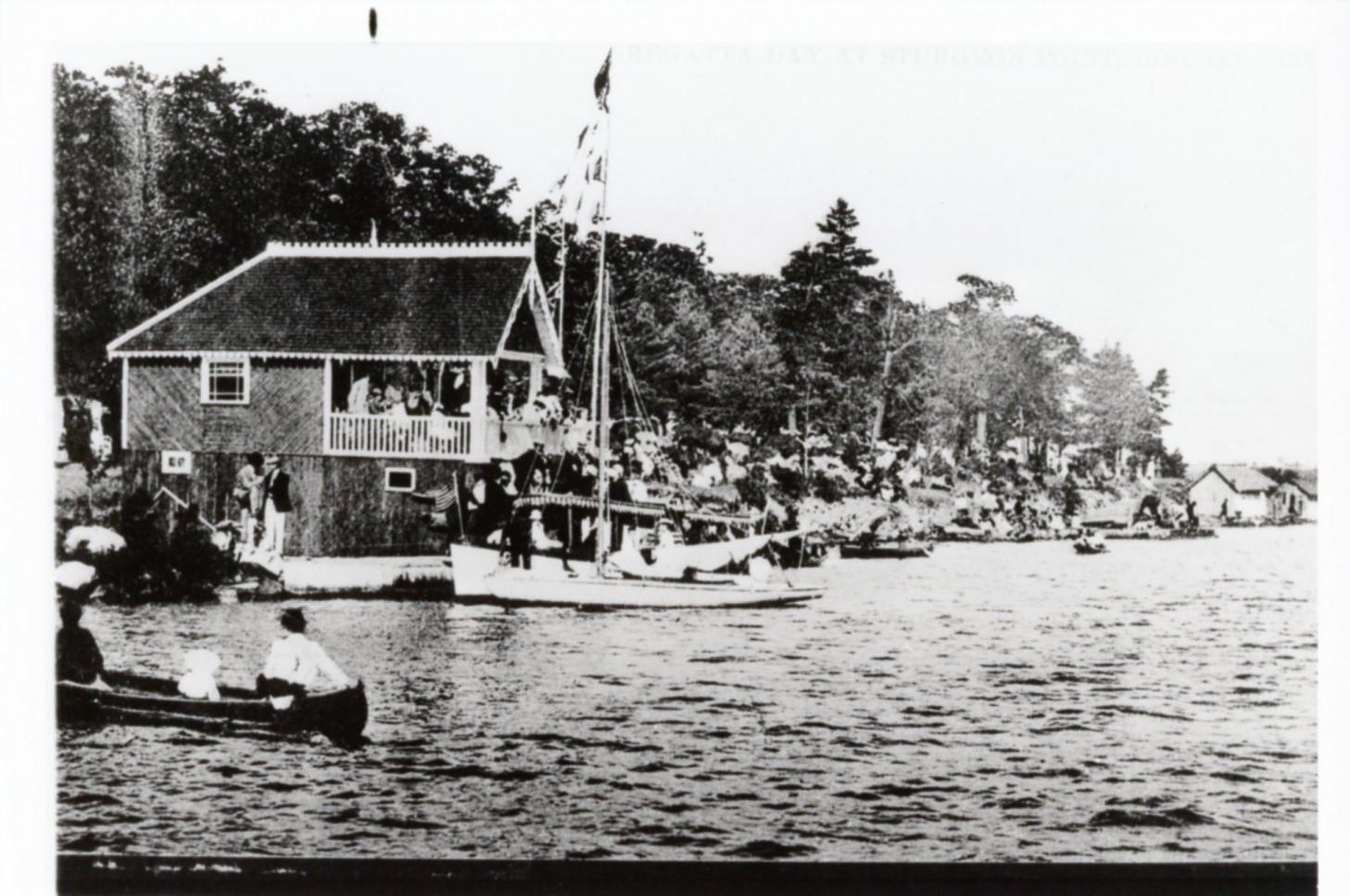Sturgeon Point Regatta, 1906