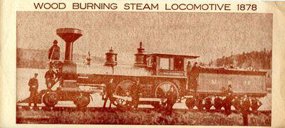 Historic Railway Locomotive Dedication Invitation