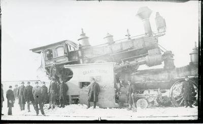 Grand Trunk 18 Railway Engine