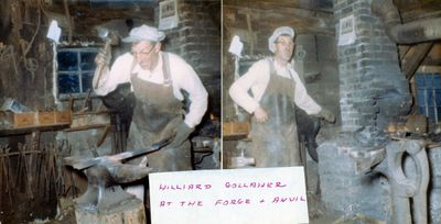 page 20 - Hilliard Gollaher at the forge & anvil