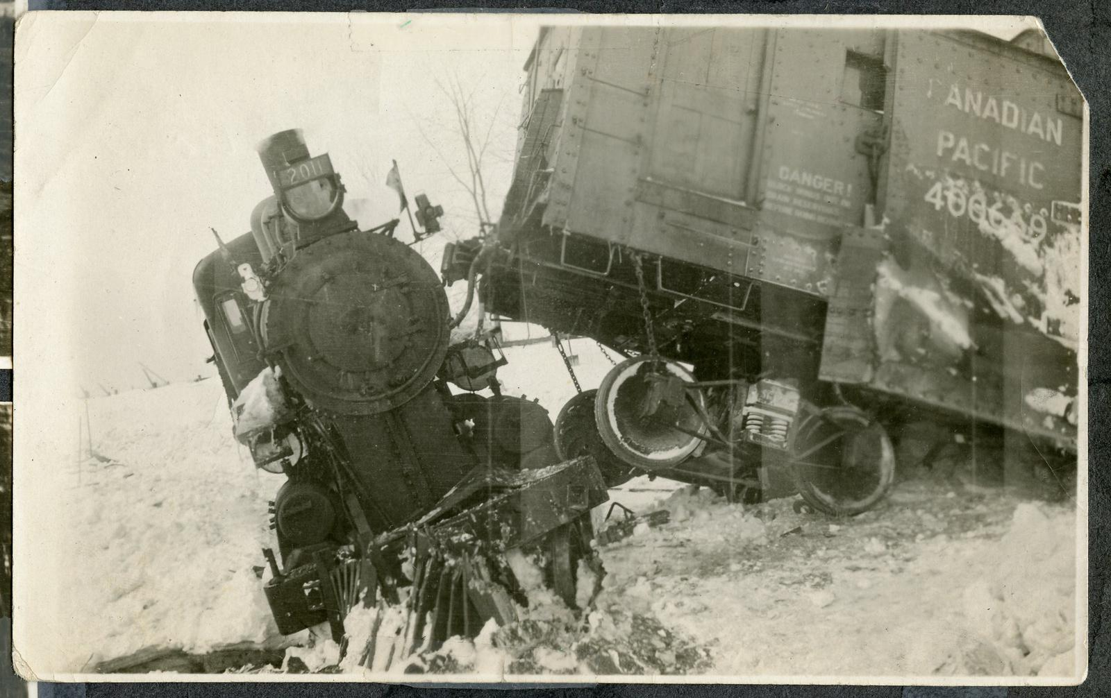 page 26 - Making Maple Syrup; and Train Wreck