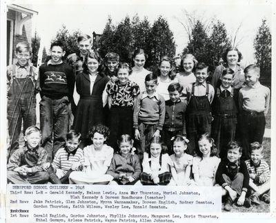 page 71 - Dunsford School Children 1948
