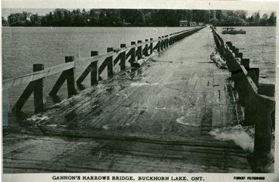 Addendum page 3 - Gannon Narrows Bridge, Buckhorn Lake