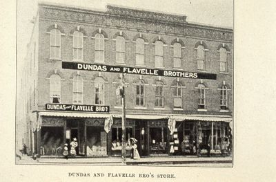 Dundas and Flavelle Store 1898