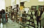 Interior of Carnegie library, 1975