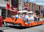 Orange Parade in Lindsay, 2018