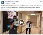 April 1: Message from Mental Health team, Ross Memorial Hospital