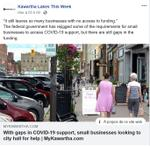 April 27: With gaps in COVID-19 support, small businesses looking to city hall for help