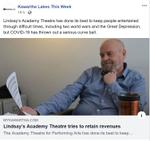 April 28: Academy Theatre tries to retain revenues