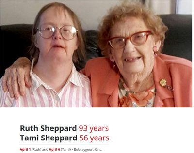 The Lives Behind the Numbers: Ruth and Tami Sheppard