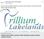 March 14: Public School Board offers answers after Kawartha Lakes schools ordered closed