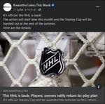 July 11: The NHL is back - Players, owners ratify return-to-play plan