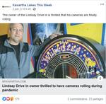 June 2: Lindsay Drive-In owner thrilled to have cameras rolling during pandemic