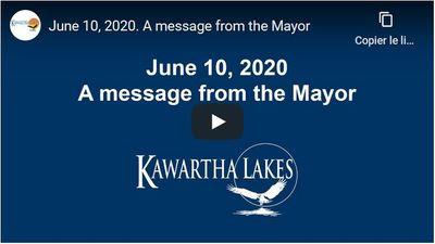 June 10: Mayor's Message
