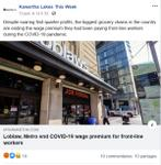 June 12: Loblaw, Metro end COVID-19 wage premium for front-line workers