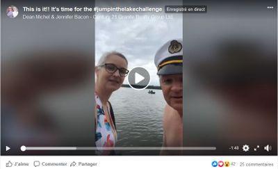 May 2: #Jumpinthelake challenge