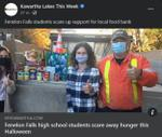 November 4: Fenelon Falls high school students scare away hunger this Halloween