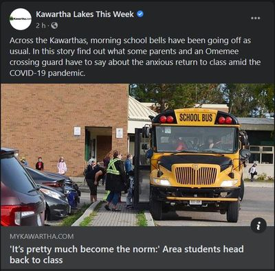 September 14: 'It's pretty much become the norm' - Area students head back to class