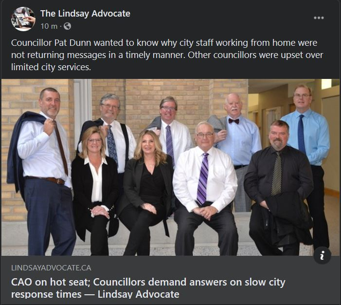 September 16: CAO on hot seat; Councillors demand answers on slow city response times