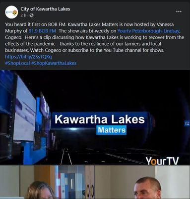 September 25: Kawartha Lakes Matters - Pandemic Recovery