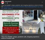 "November 13: ""Shop Your Bubble"" unique, pandemic safe, shopping experience comes to Fenelon Falls"