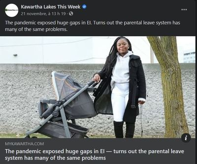 November 21: The pandemic has exposed huge gaps in EI - turns out the parental leave system has many of the same problems