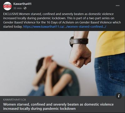 November 25: Women starved, confined and severely beaten as domestic violence increased locally during pandemic lockdown