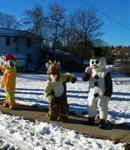 December 14: Coboconk's Santa Claus Reverse Parade
