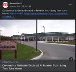 January 9: Coronavirus outbreak declared at Fenelon Court Long Term Care home