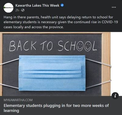 January 10: Elementary students plugging in for two more weeks of school