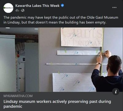 January 12: Lindsay museum workers actively preserving past during pandemic