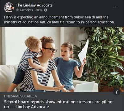 January 19: School board reports show education stressors are piling up