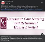 January 21: Situation at Caressant Care on McLaughlin Road in Lindsay worsening