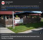 January 24: Coronavirus outbreak declared at second Caressant Care facility in Lindsay