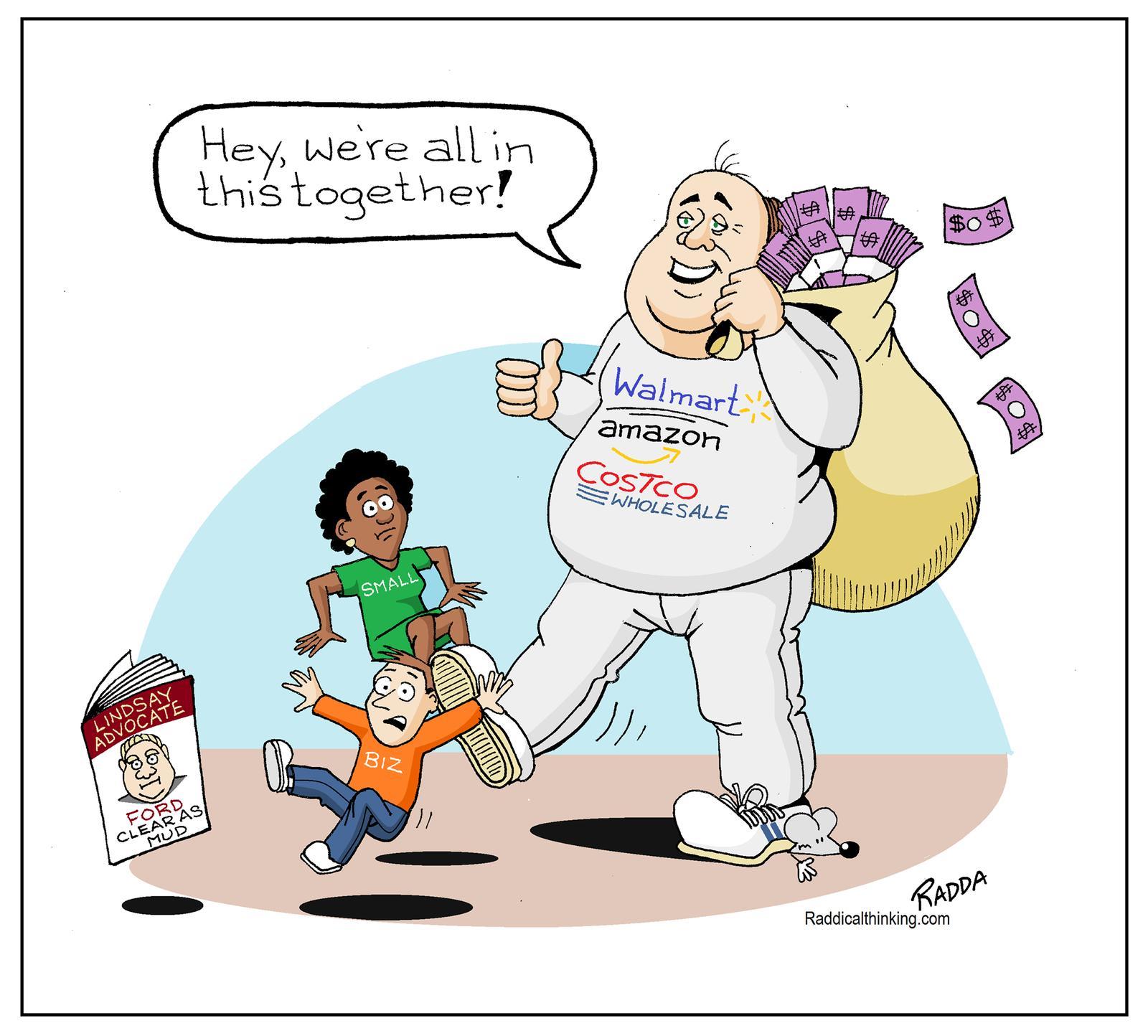 February 10: February Advocate cartoon