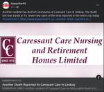 February 11: Another death reported at Caressant Care in Lindsay