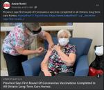 February 11: Province says first round of coronavirus vaccinations complete in all Ontario long-term care homes